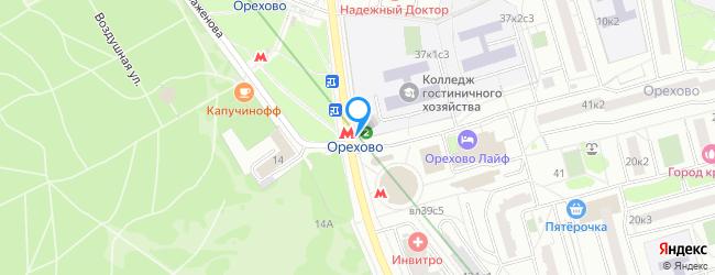 метро Орехово