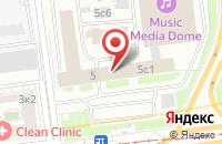 Схема проезда до компании Вниикп-Оптик в Москве