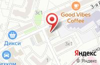 Схема проезда до компании Камсан Телеком в Москве