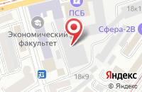 Схема проезда до компании Инжинирингсити в Москве