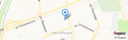 Окна-Центр на карте Донецка