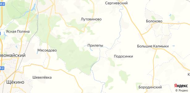 Прилепы на карте