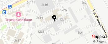 Инокс-Авто на карте Москвы