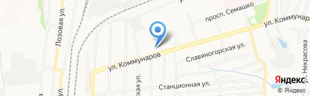 Реал на карте Донецка
