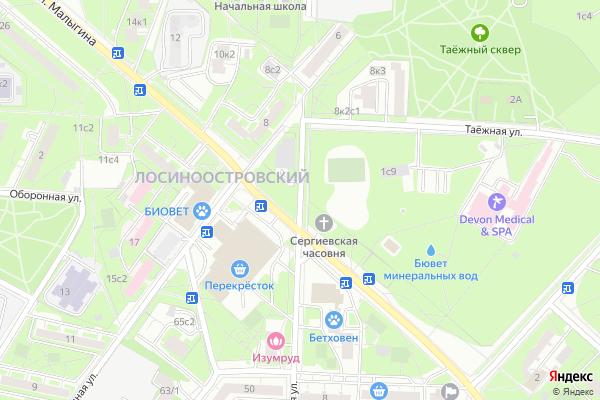 Ремонт телевизоров Улица Норильская на яндекс карте