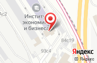 Схема проезда до компании Анфея в Москве
