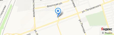 LeMans на карте Донецка