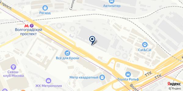 Окна Дюрот на карте Москве