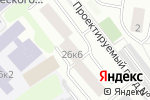 Схема проезда до компании Доби энд К в Москве