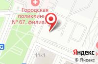 Схема проезда до компании Дельта Инвестментс в Москве