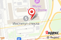 Схема проезда до компании Тло в Москве