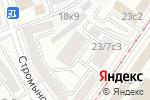 Схема проезда до компании Элис-Строй в Москве