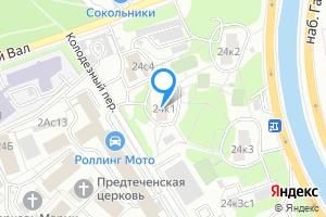 Сдается однокомнатная квартира в Москве м. Преображенская площадь, улица Олений Вал, 24к1