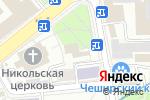 Схема проезда до компании Магазин церковной вышивки в Москве