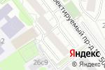 Схема проезда до компании CubaMania в Москве