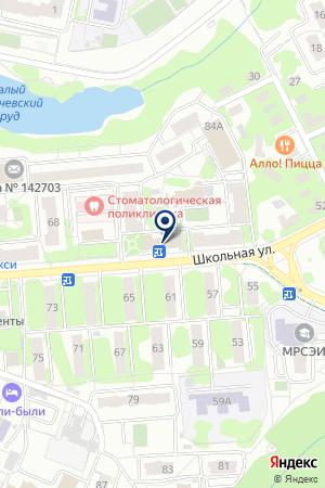 ПРОДОВОЛЬСТВЕННЫЙ МАГАЗИН ТРИ+ на карте Видного