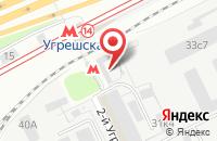 Схема проезда до компании Озеленение в Москве