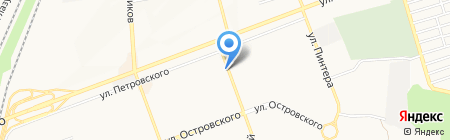 Тирамису на карте Донецка