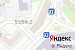 Схема проезда до компании FORWart в Москве