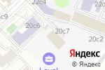 Схема проезда до компании МОНОМАКС КОНГРЕСС-СЕРВИС в Москве