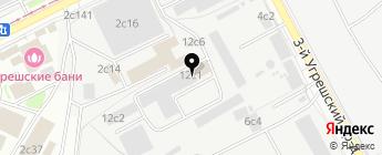Автодоверие, ГК на карте Москвы