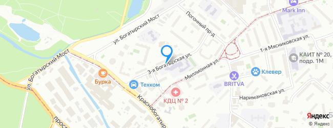 улица Богатырская 3-я