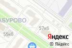 Схема проезда до компании ОПОП Южного административного округа в Москве