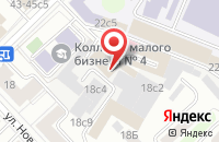 Схема проезда до компании Стройзаказ в Москве