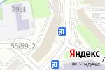 Схема проезда до компании Химсырье в Москве