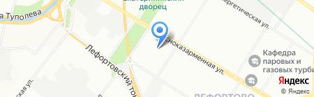 Средняя общеобразовательная школа №417 с дошкольным отделением на карте Москвы