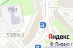 Схема проезда до компании СтройИзол в Москве