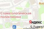 Схема проезда до компании Орленок в Видном
