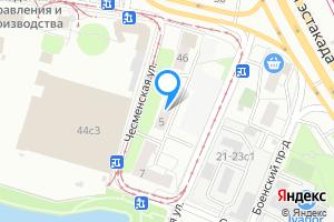 Комната в четырехкомнатной квартире в Москве м. Волгоградский проспект, Чесменская улица, 5