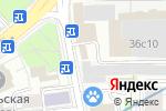 Схема проезда до компании ИД Автограф в Москве