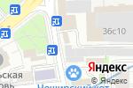 Схема проезда до компании Файбер Системс в Москве