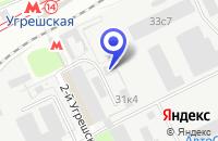 Схема проезда до компании ПТФ ДЕРУФА в Москве