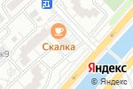 Схема проезда до компании Д. М. гарант в Москве