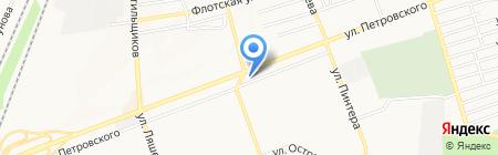 Дом посуды на карте Донецка