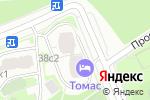Схема проезда до компании Солнечный дом в Москве