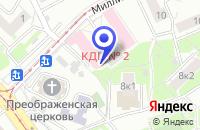 Схема проезда до компании МЕДИЦИНСКИЙ ДИАГНОСТИЧЕСКИЙ ЦЕНТР № 2 в Москве
