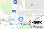 Схема проезда до компании СтройДетальКомплект в Москве
