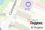 Схема проезда до компании Сауна на Скотопрогонной в Москве