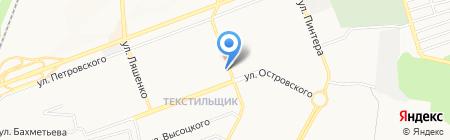 Эльф на карте Донецка