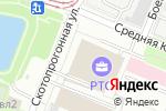Схема проезда до компании Евро-Окно Инжиниринг в Москве