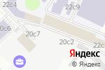 Схема проезда до компании Московский центр контактной импровизации и перфоманса в Москве