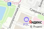 Схема проезда до компании Legrand & Donolux в Москве