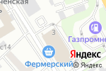 Схема проезда до компании Techno Room в Москве