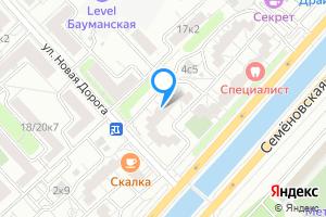 Снять однокомнатную квартиру в Москве м. Электрозаводская, Рубцовская набережная, 4к1
