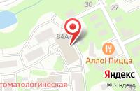 Схема проезда до компании Стройэксперт в Видном