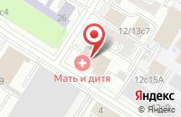 Схема проезда до компании Эйдос Медиа в Москве